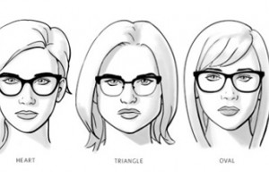 Choose the glasses that fit your face