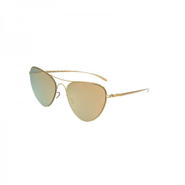 Sunglasses Mykita + Maison Margiela MMESSE015 E12-ChampagneGold