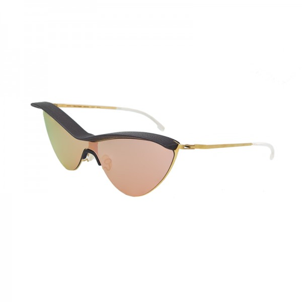 Sunglasses Mykita + Maison Margiela MMECHO002 MH8-Ebonybrown/Champ 307
